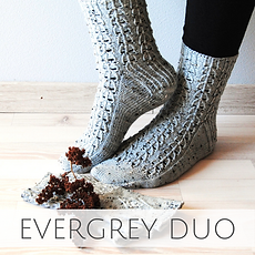 Evergrey Duo :: set of accessory knitting patterns