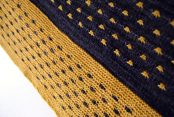 Boom Star :: shawl knitting pattern