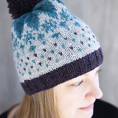 Frysa Beanie :: colorwork hat knitting pattern