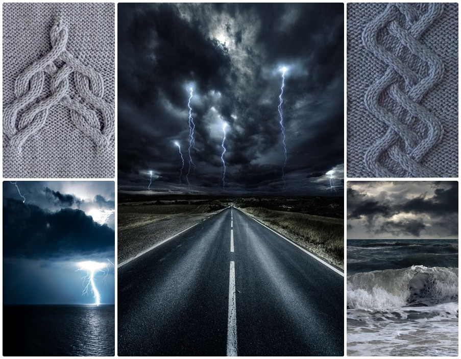 Mood board for Brontide