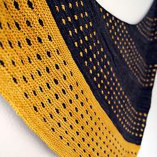 Boom Star :: shawl knitting pattern