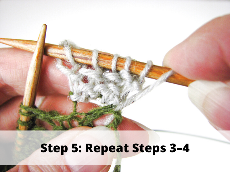 Step 5: Repeat Steps 3-4