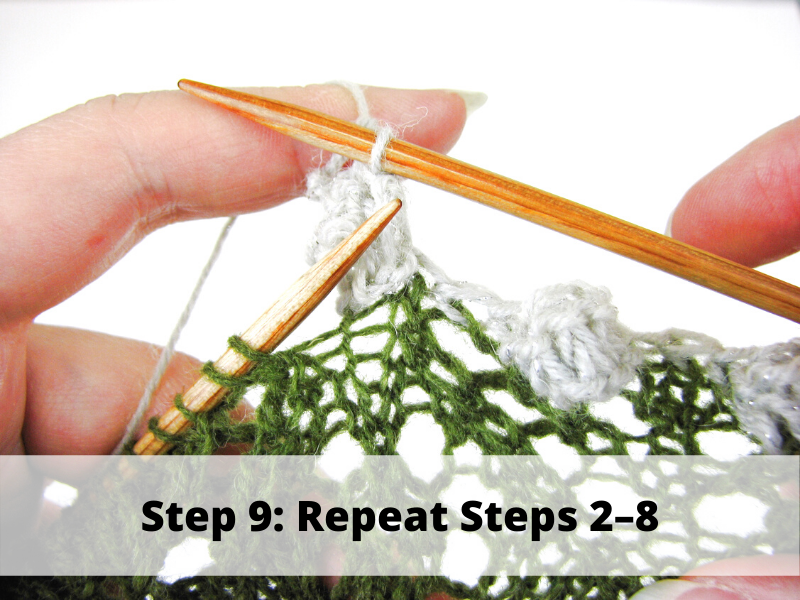 Step 9: Repeat Steps 2-8