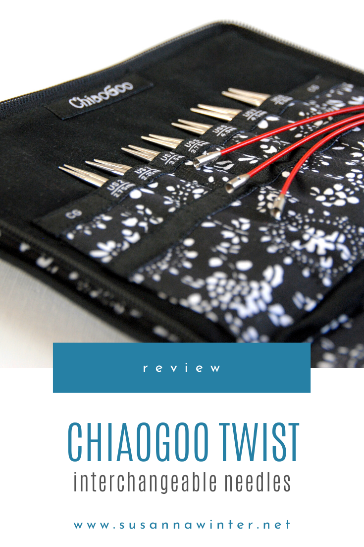 Review: ChiaoGoo TWIST Red Lace Interchangeable Needles