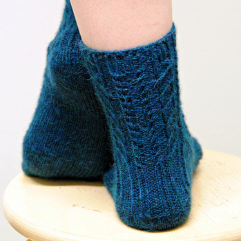 Burnham :: sock knitting pattern