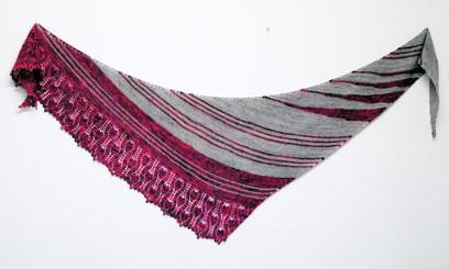 Zusammen :: shawl knitting pattern