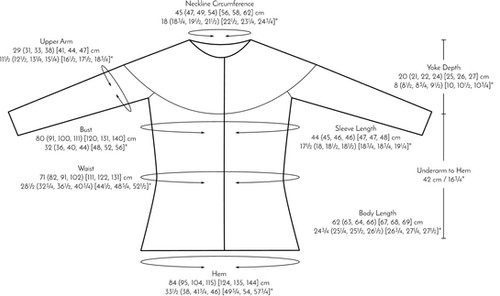 Pontefract :: cardigan knitting pattern