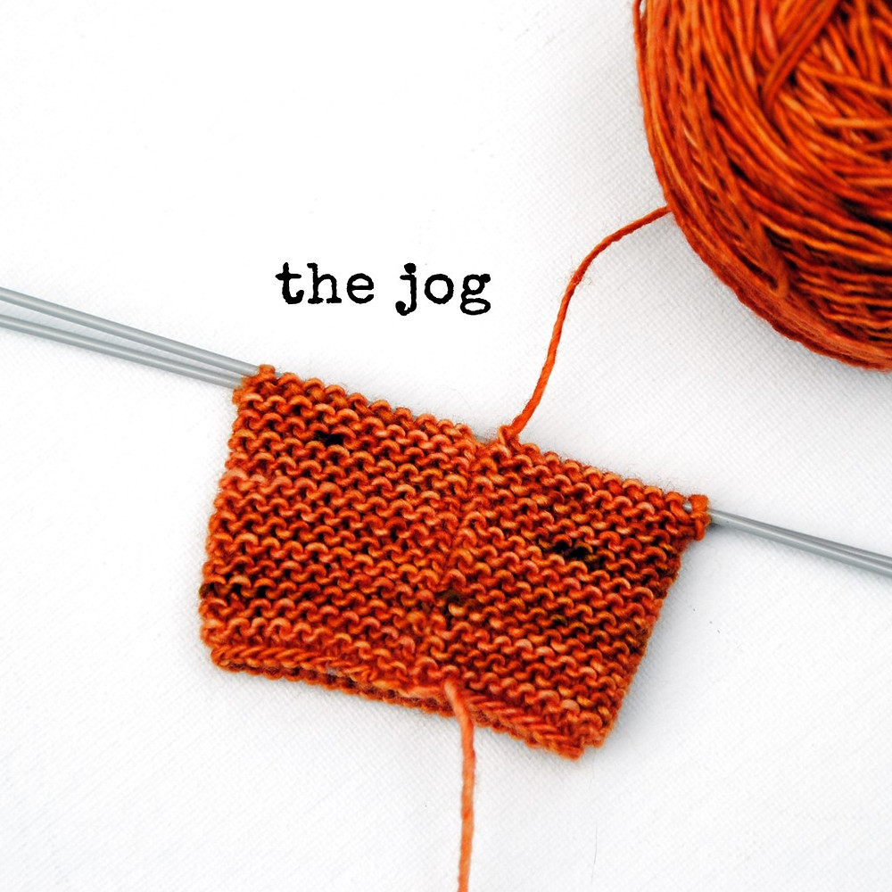 The Jog in Garter Stitch