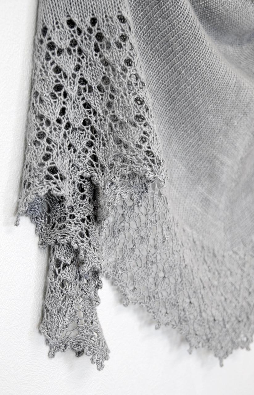 Lady of Light :: shawl knitting pattern