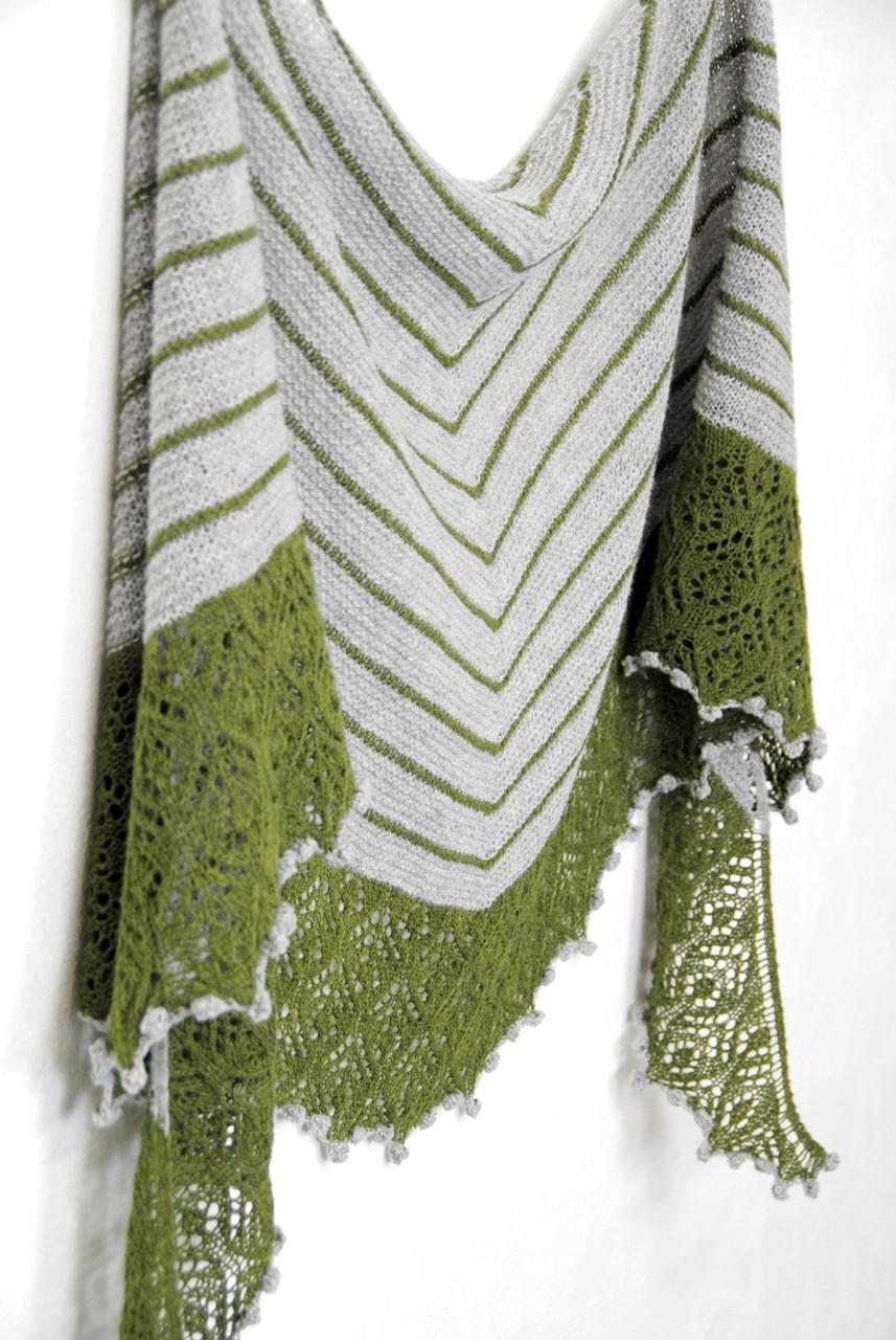 Grand Fir :: shawl knitting pattern from talvi knits.
