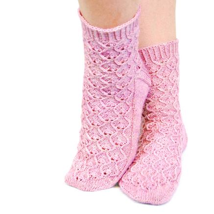 Evighet :: sock knitting pattern