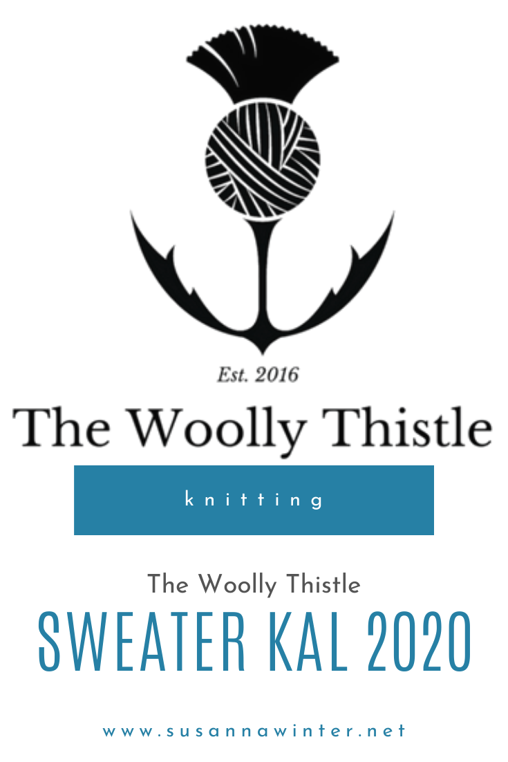 The Woolly Thistle Sweater KAL 2020