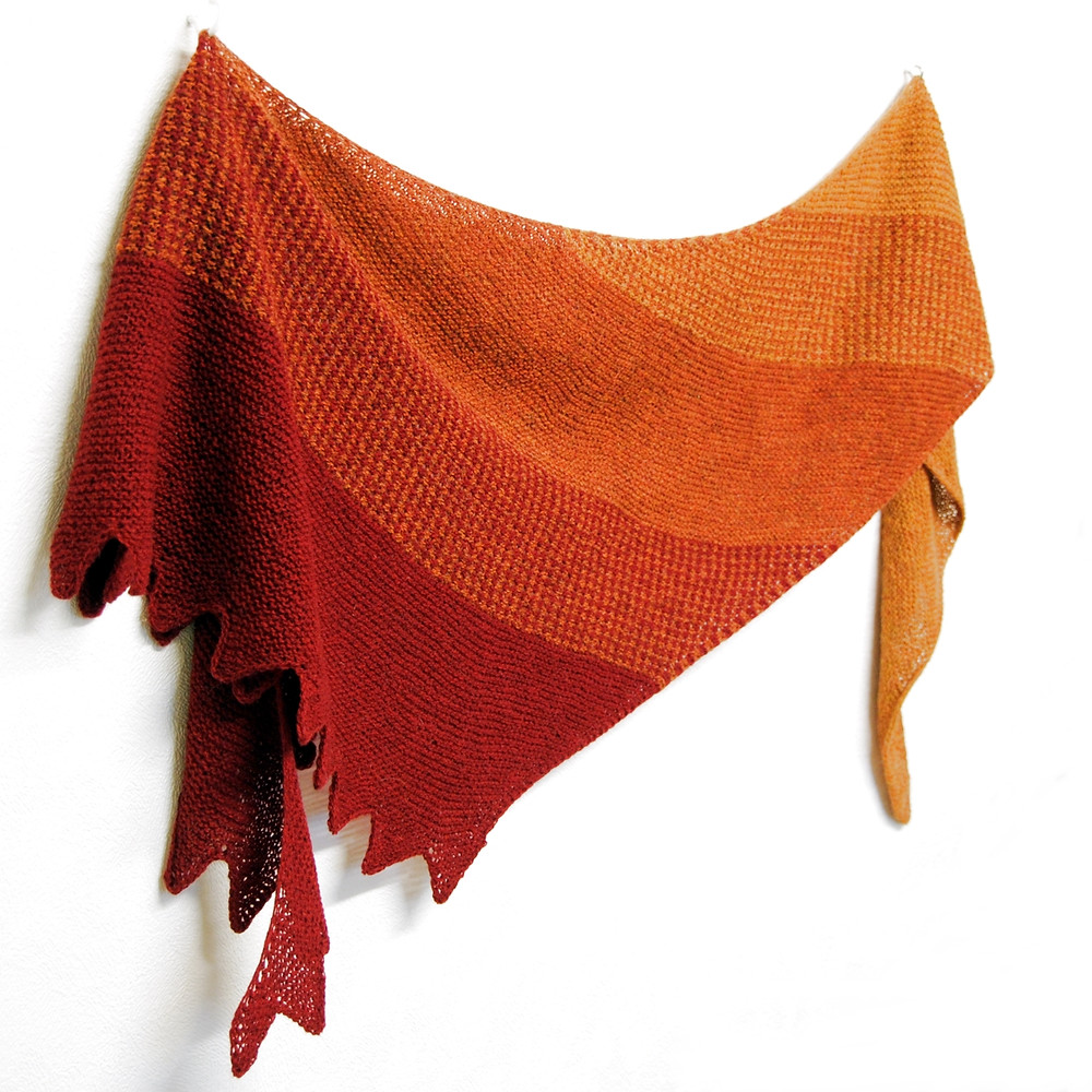 Spice Road :: shawl knitting pattern from talvi knits.