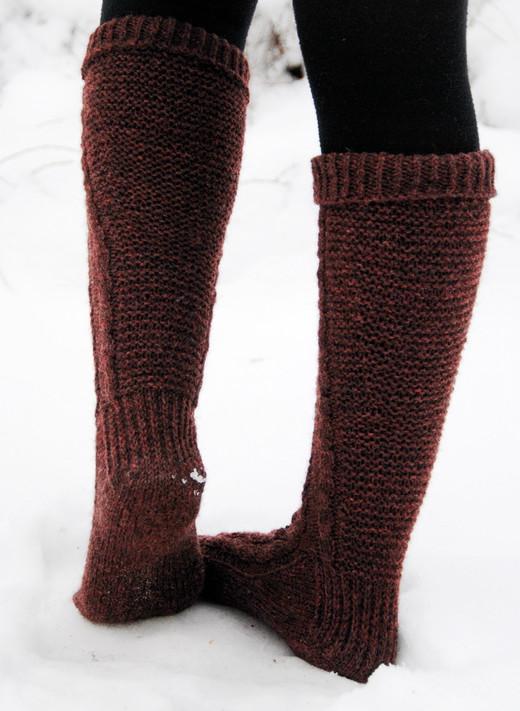 Liisi :: sock knitting pattern
