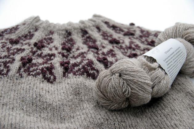 Muscardin :: sweater knitting pattern