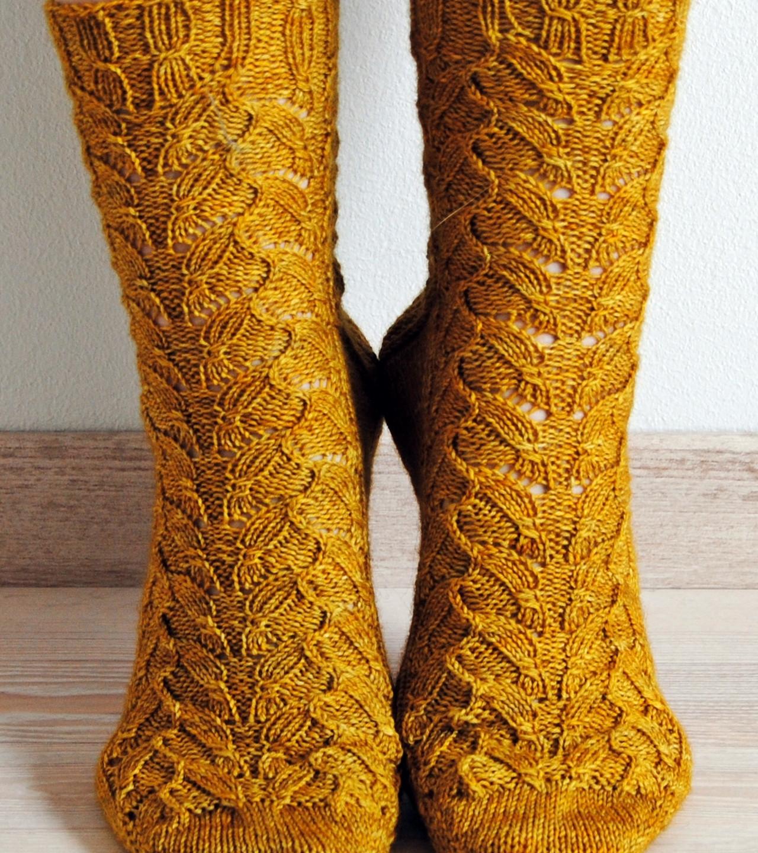 Emmer Wheat Socks