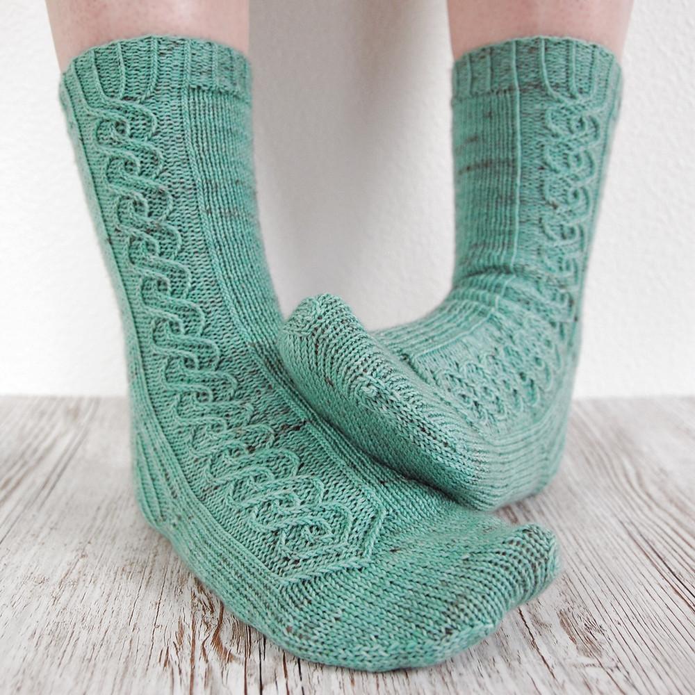 Intertwined Socks