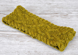 Hibernia Headband :: headband knitting pattern