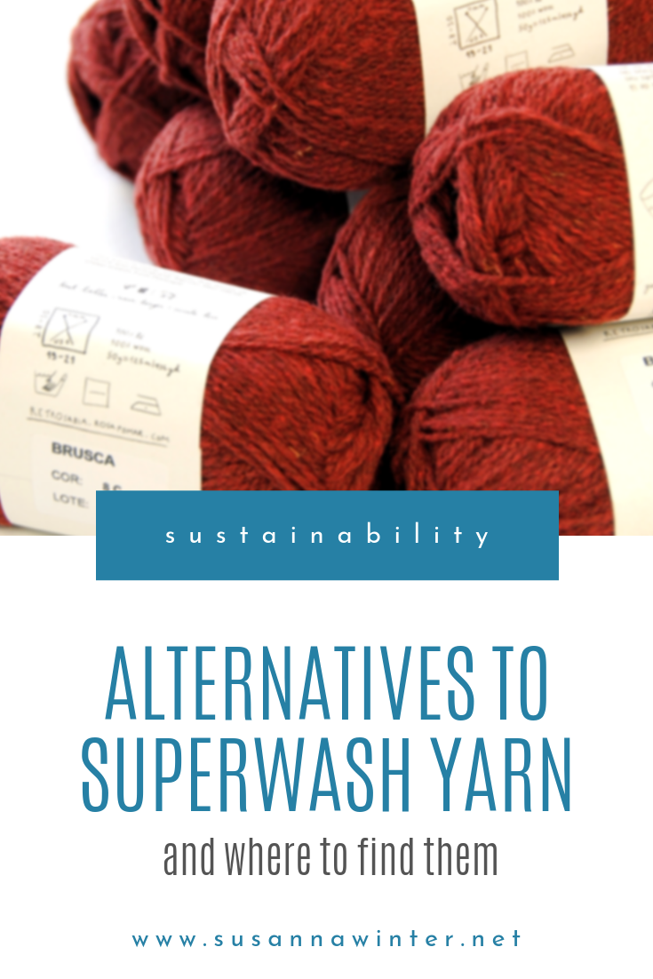 Three Alternatives to Superwash and Where to Find Them