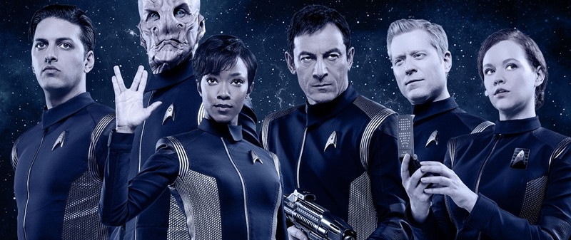 The cast of Star Trek: Discovery