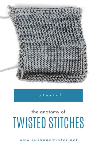 The Anatomy of Twisted Stitches