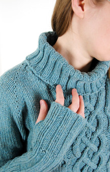 Ikirouta :: sweater knitting pattern