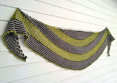 Lempi :: shawl knitting pattern
