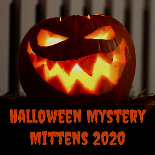 Halloween Mystery Mittens 2020 :: mystery colorwork mittens
