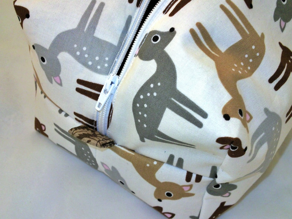 Boxy Deer Pouch