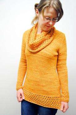 Honung :: sweater knitting pattern