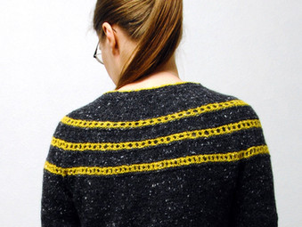 Pontefract :: cardigan knitting pattern