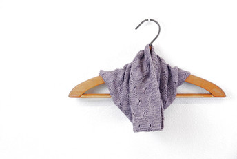 Lavender Lullaby :: cowl knitting pattern