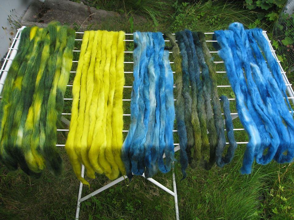 dyeing fiber