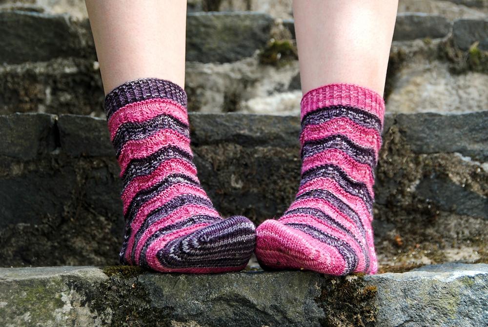 Sorelle sock knitting pattern