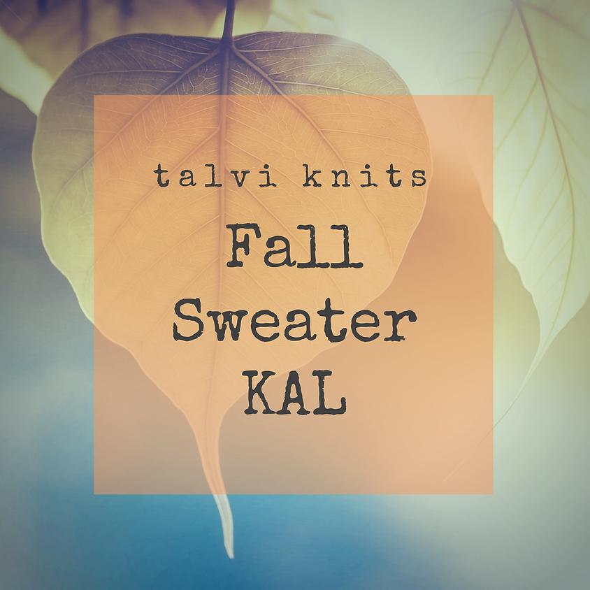 talvi knits Fall Sweater KAL