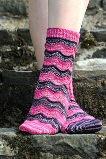 Sorelle :: sock knitting pattern