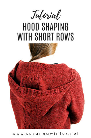 Hood Shaping with Short Rows [Tutorial]