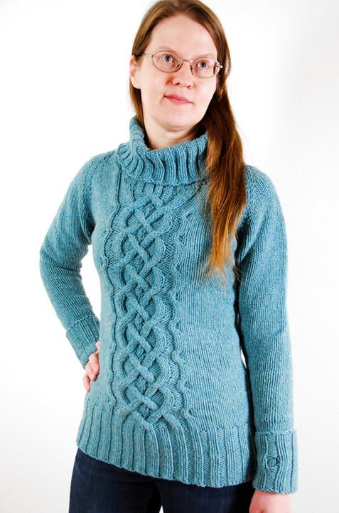 Ikirouta :: sweater knitting pattern