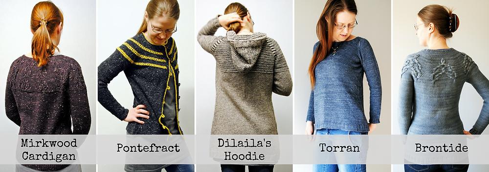 talvi knits Sweater Patterns
