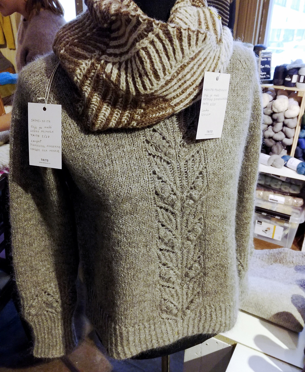 Shimo Sweater by Leeni Hoi