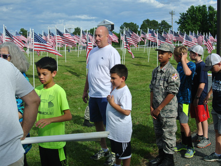 Be a 2019 Flags for Heroes Sponsor!