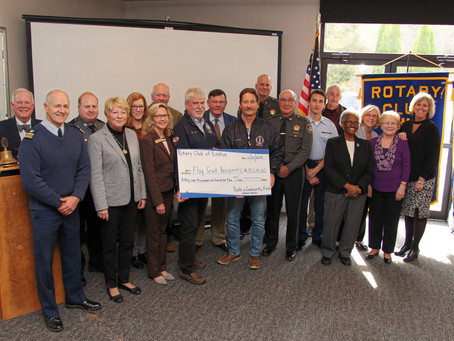 Rotary Club of Easton Hosts Eighth Annual Flags for Heroes Awards Luncheon