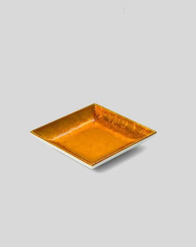 Nom-Living-Lacquer-Soap-Dish-Gold-White-