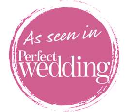 AS FEATURED IN PERFECT WEDDING
