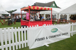Pimms and Champagne Garden