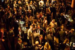 Corporate drinks reception