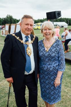 Mayor of Loughborough at Robbies