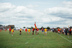 Line Out at Robbies Rugby