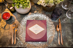 Anthropologie styled table design