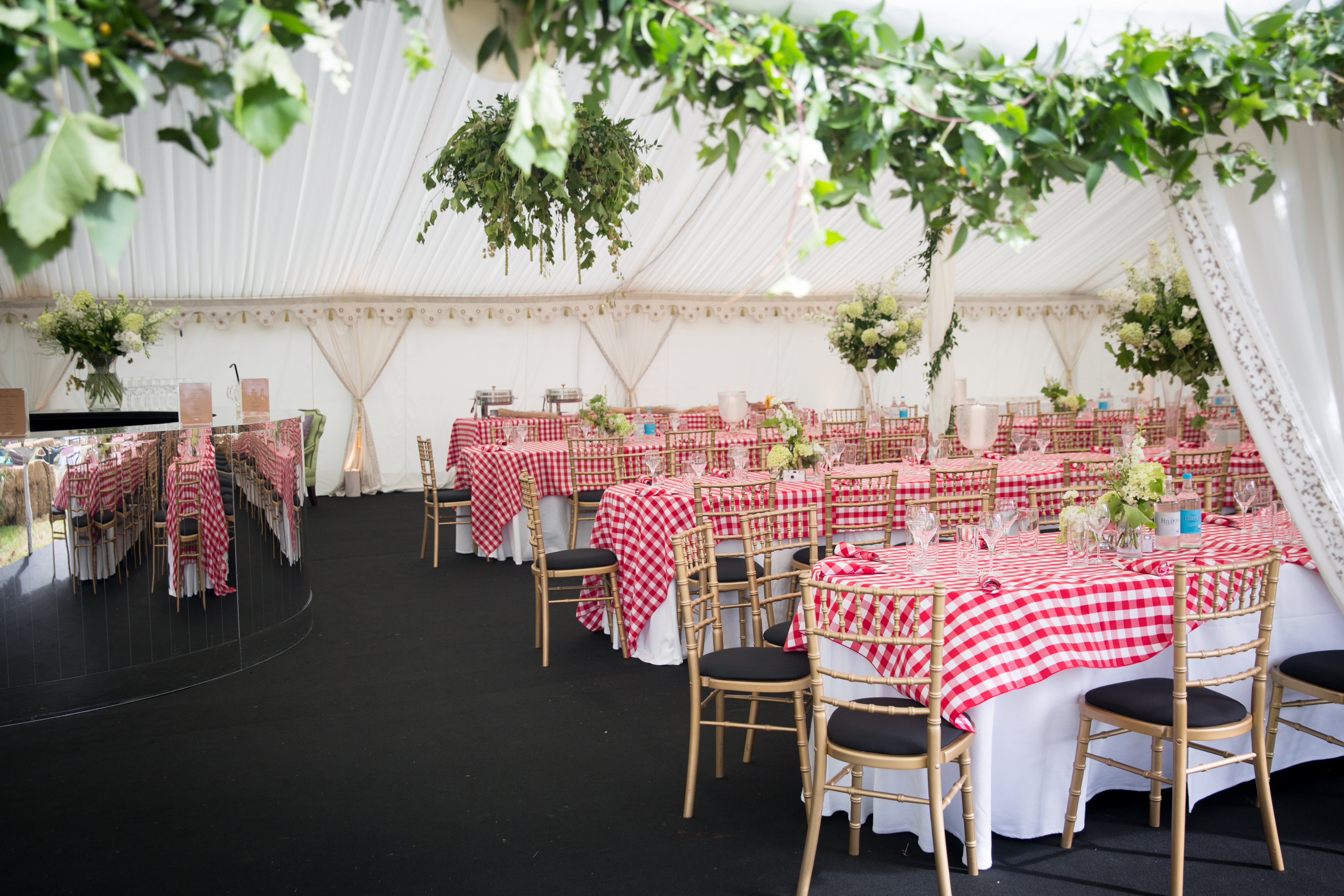 Western style marquee